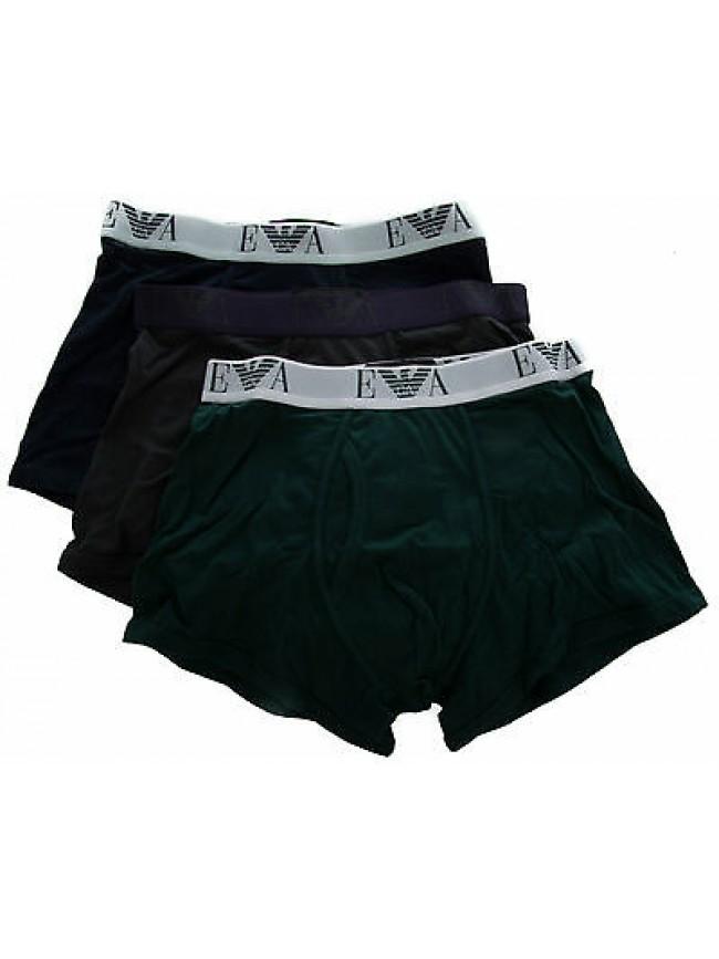 Tripack 3 boxer trunk EMPORIO ARMANI art.111867 4A712 T.S col.12443