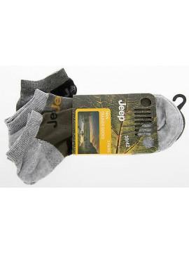 Tripack 3 calzino calza bassa uomo JEEP art.C100201 T.39-42 col.N071