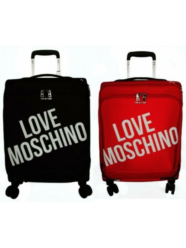 Trolley valigia viaggio da cabina 4 ruote LOVE MOSCHINO articolo JC5100PP1BLU VI