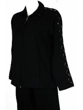 Tuta completo donna zip homewear F.LLI CAMPAGNOLO 8Q76206 taglia L col. M982 BLU