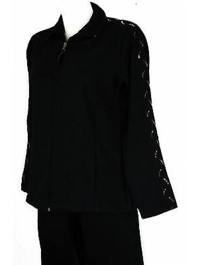 Tuta completo donna zip homewear F.LLI CAMPAGNOLO 8Q76206 taglia M col. M982 BLU