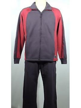 Tuta completo homewear zip uomo F.LLI CAMPAGNOLO a.9Q17079 T.48/M c.U862 grigio