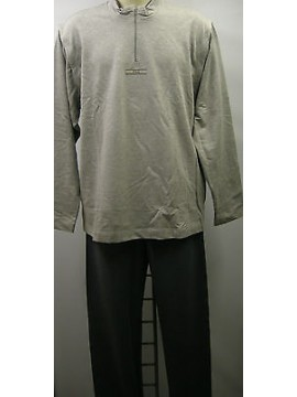 Tuta completo maniche staccabili uomo suit FILA a.54130 T.5/L c.026 grigio grey