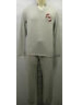 Tuta completo sport uomo suit man GUESS a.UH6U48 JER49 T.XL c.M92 grigio grey