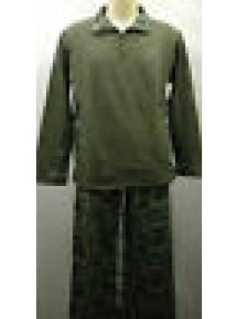 Tuta completo tempo liber uomo suit RAGNO SPORT N63672 T.5/L 653 mility militare