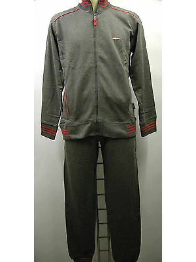 Tuta completo tempo libero sport zip uomo suit RAGNO N67882 T.3 c.310M antracite