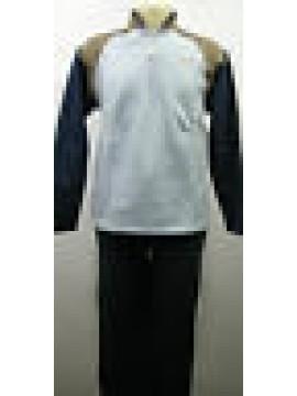 Tuta completo tempo libero uomo suit RAGNO SPORT N6483W T.4/48 c.078 blu bleu