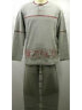 Tuta completo tempo libero uomo suit man FILA art.50032 T.3/S col.026 grigio mel
