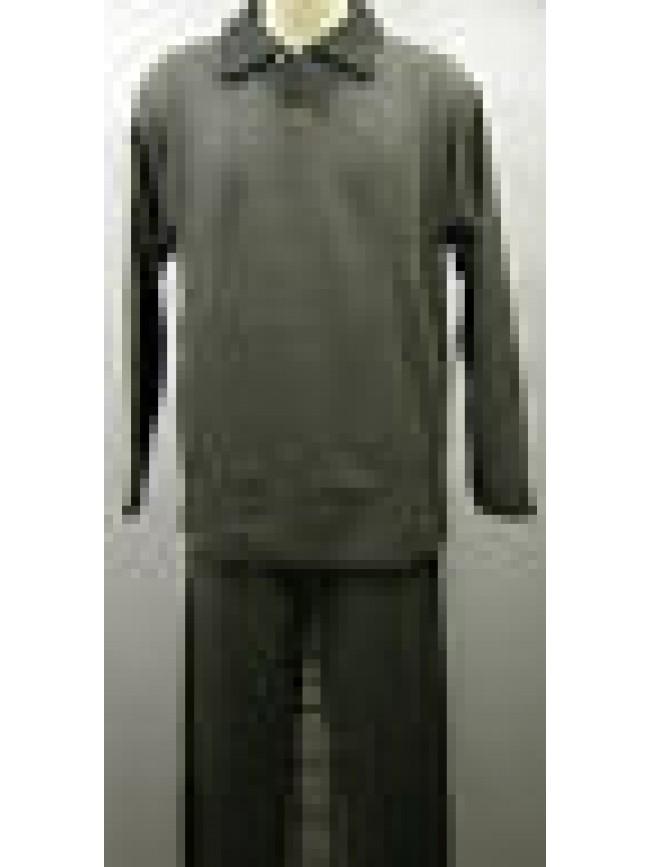 Tuta completo tempo libero uomo suit man FILA art.56870 T.5/L col.001 antracite
