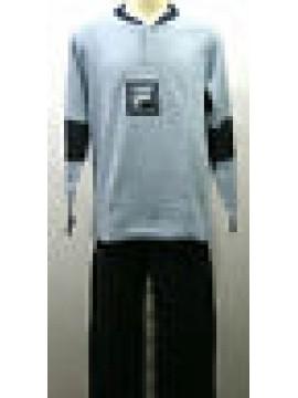 Tuta completo tempo libero uomo suit man FILA art.58031 T.5/L col.070 azzurro