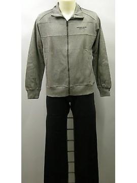 Tuta completo tempo libero zip uomo suit F.LLI CAMPAGNOLO a.9Q17641 T.46 c.U804