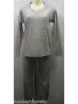 Tuta donna pj set suit pochette GUESS UC6D40 FLP89 T.XL U914 grigio perla grey