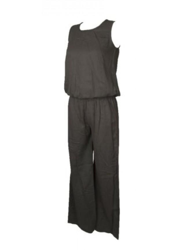 Tuta donna  spalla larga  pantalone lungo EMPORIO ARMANI articolo 262524 5P373 L