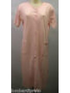 VESTAGLIA DA CAMERA DONNA COTONE ROBE WOMAN RAGNO N77178 T.50 GLICINE ROSA PINK