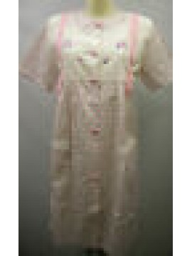 Vestaglia camera donna home wear peignoir BERTILLA a.1352 giuditta T.44 rosa Ita