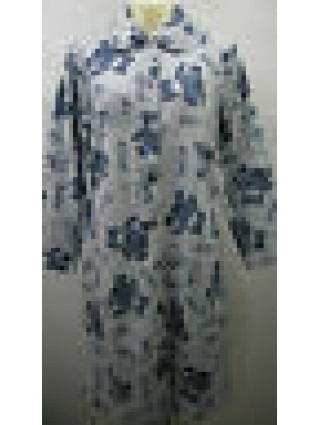 Vestaglia camera donna home wear peignoir DOLCI CHICCHE a.8433 T.44 c.cielo bear