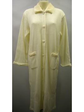 Vestaglia camera donna home wear peignoir LINCLALOR a.55111 T.46 c.0033 panna