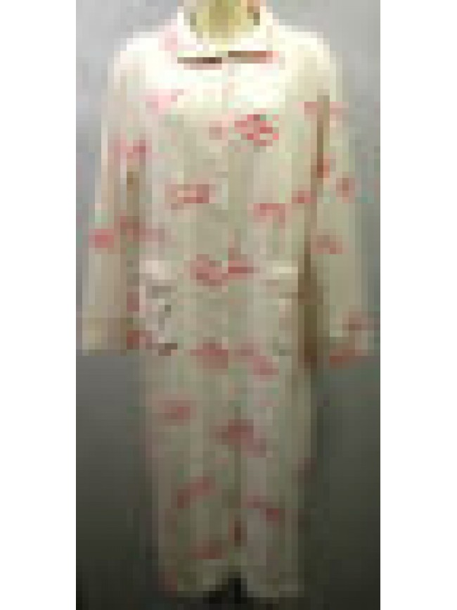 Vestaglia camera donna home wear peignoir RAGNO N77008 T.52 c.126F fant p cuori