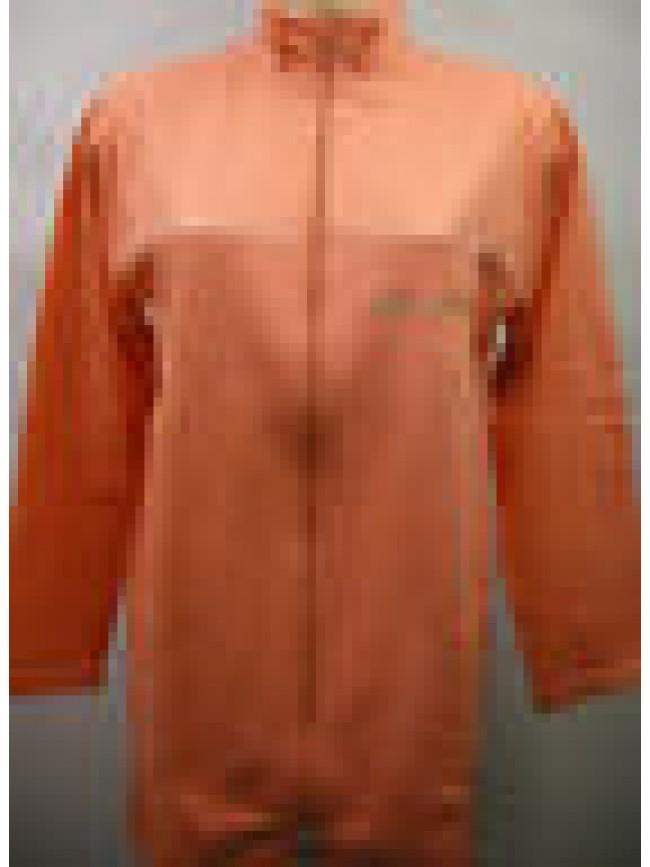 Vestaglia corta camera donna zip home wear peignoir RAGNO N76255 T.44 albicocca