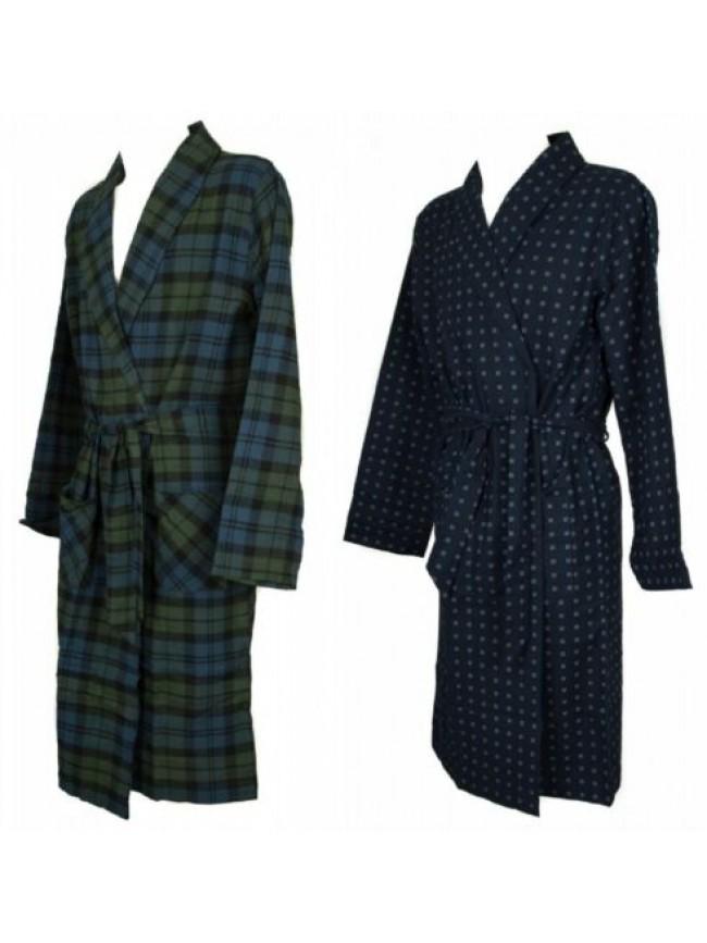 Vestaglia da camera uomo in cotone flanella homewear RAGNO articolo N24808