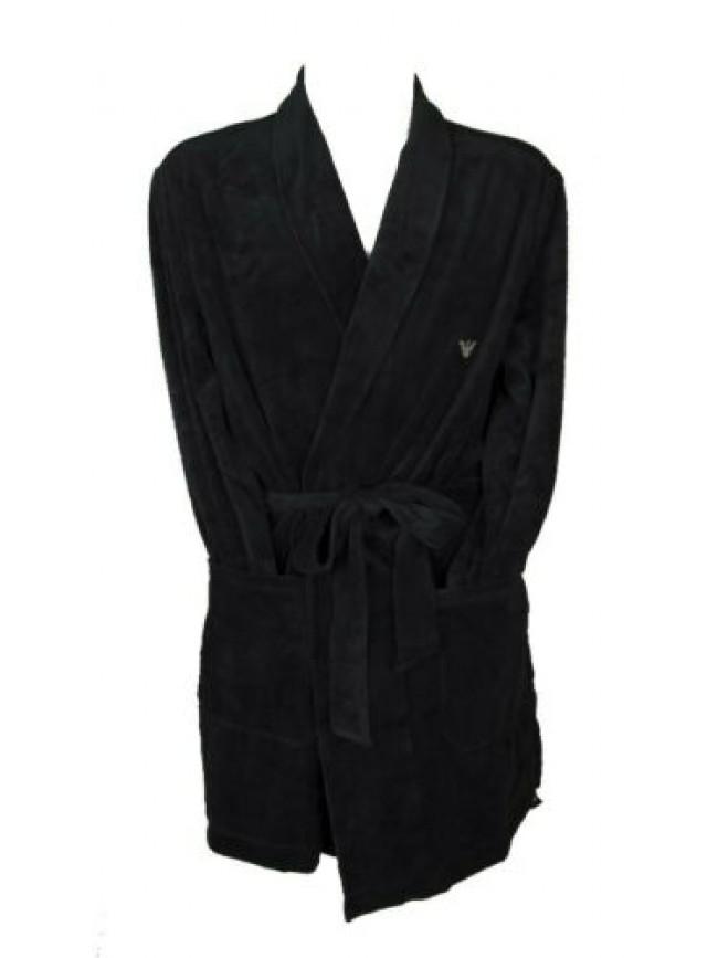 Vestaglia da camera uomo in morbido velluto loungewear EMPORIO ARMANI articolo 1