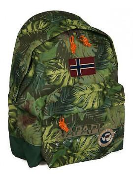 Zaino 40x30x10 NAPAPIJRI north cape backpack art. 4BNN3R13 colore F17 FANT GREEN