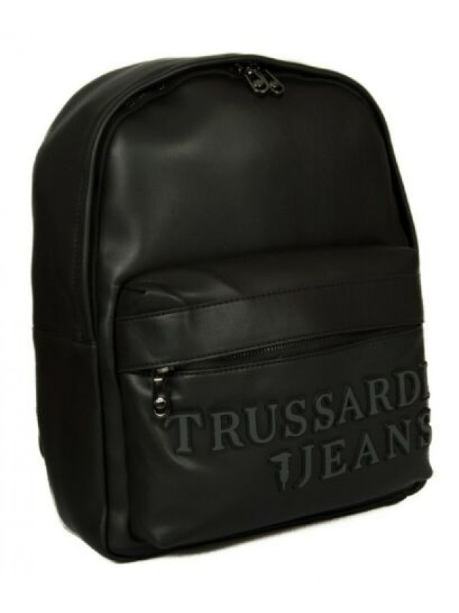 Zaino TRUSSARDI JEANS articolo 71B00204 MAESTRALE BACKPACK MD SMOOTH ECOLEATHER