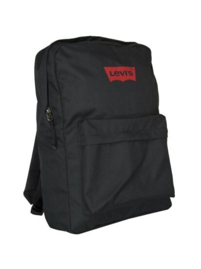 Zaino scuola tempo libero backpack LEVI'S articolo 226007 square basic  - cm.43x